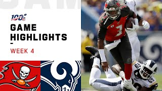 Buccaneers vs. Rams Week 4 Highlights | NFL 2019