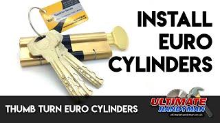 Thumb turn Euro cylinders