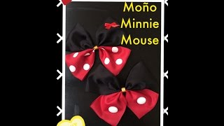 Minnie Mouse Moño super cute !