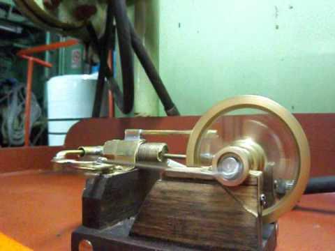 Motor casero de aire comprimido