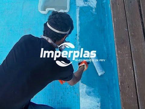 Impermeabilizaci n de piscinas de hormig n con fibra de - Piscinas de poliester ...