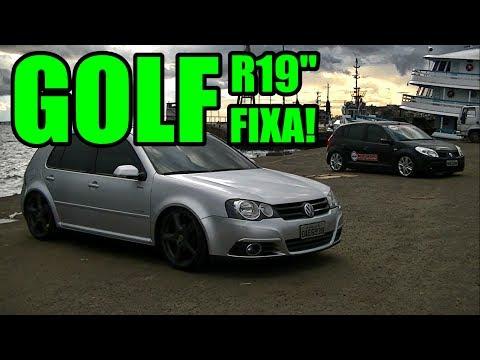 """Golf Rebaixado R19"""" FIXA! + Bônus Partic. Saveiro R19"""" e Sandero R17"""" FIXA"""