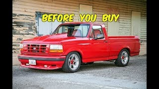 Watch This BEFORE You Buy a Ford F150 SVT Lightning (1993-1995)