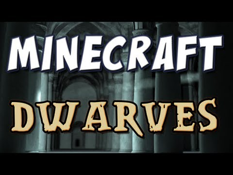 Minecraft - Mod Spotlight - Dwarves! (and Penguins)