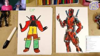 download lagu How To Draw Deadpool gratis