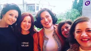 خاص بالفيديو-بالتفاصيل..قصة حب تجمع كارين رزق الله وعمار شلق في رمضان 2019