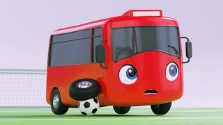 Little Baby Bus - Buster Plays Soccer | Kids Cartoons | Children's Stories