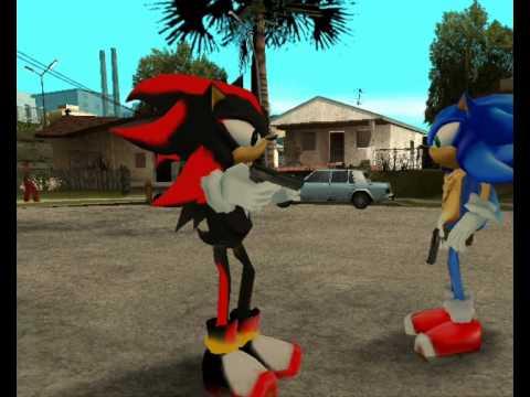 GTA San Andreas Loquendo - Sonic y Shadow al Rescate!!