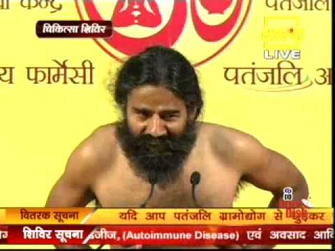 Swami Ramdev Yoga Camp At Patanjali Yogpeeth Haridwar, Date 02-01-2015 video