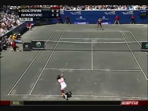 Tatiana Golovin vs. Ana Ivanovic 2007 Amelia Island Highlights