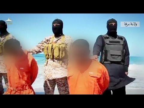 """تسجيل لتنظيم """"الدولة الاسلامية"""" يظهر اعدام اثيوبيين مسيحيين في ليبيا"""