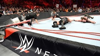 Unseen footage of Braun Strowman and Big Show destroying the Raw ring: Exclusive, April 19, 2017