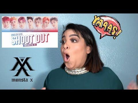 Monsta X -  'Shoot Out' ENG VER. Reaction