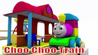 Choo Choo Train - Chu Chu Train Cartoons for Children - Train Videos for Kids