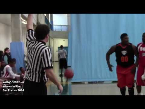 Craig Evans Wisconsin Starz HIGHLIGHTS MN Spring Classic | Sun Prairie 2014 Badgers Football commit