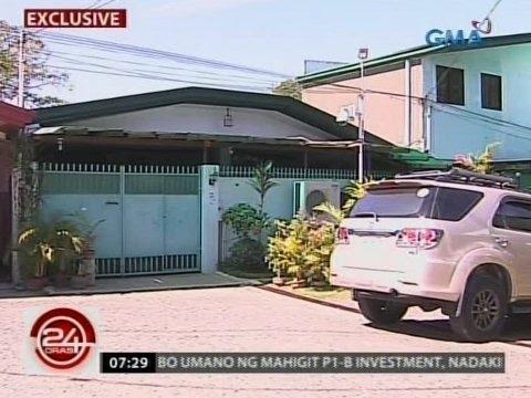 24 Oras: Bahay ng mga Duterte na nakalistang address sa umano'y mga bank acct niya, natunton