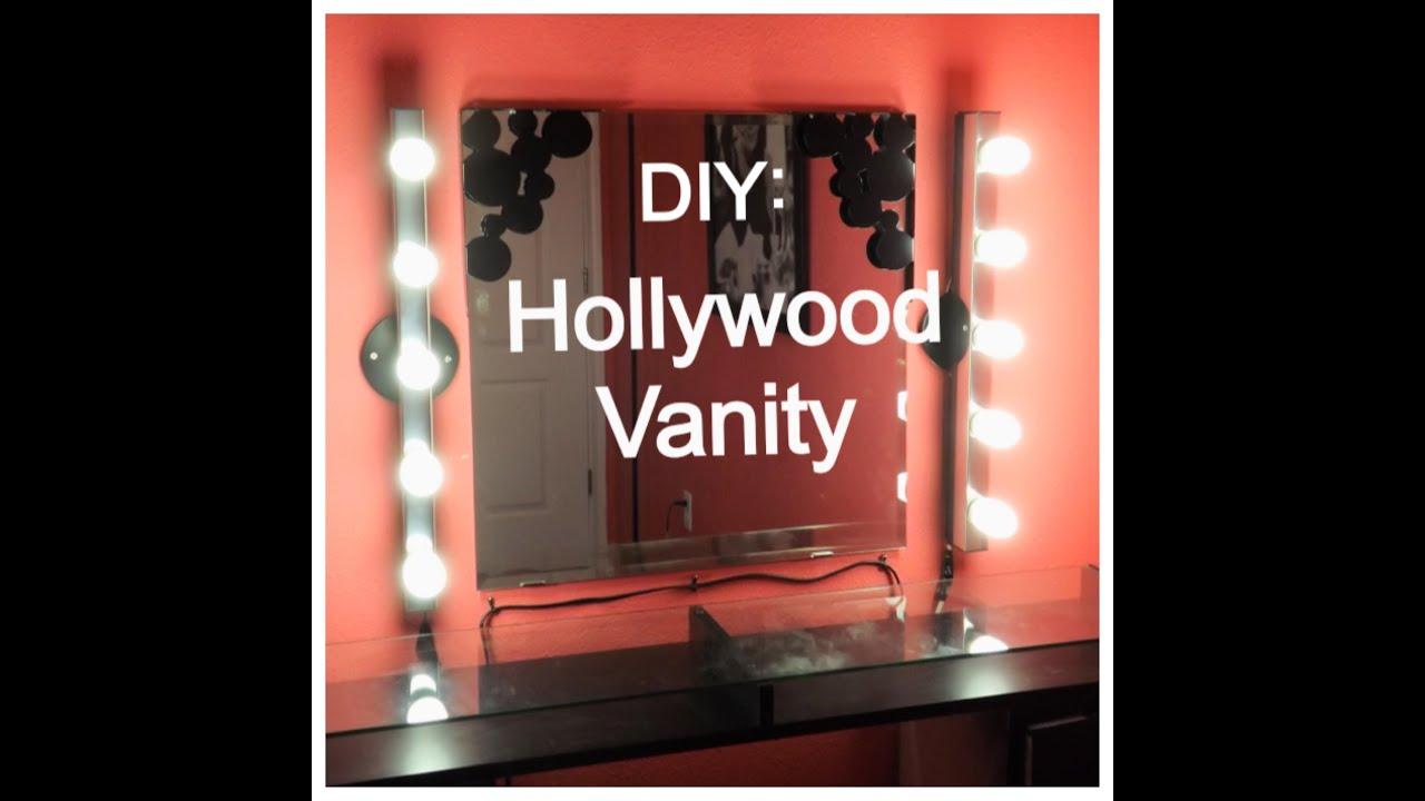 DIY Saturday: Hollywood Vanity - YouTube