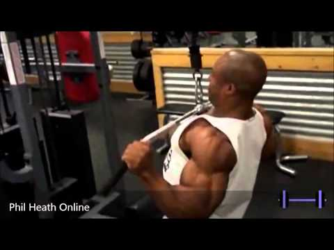 Phil Heath Back Workout   The Road to Mr Olympia 2014 vimow