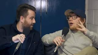 Ed Sheeran Talks  Stage Fright