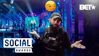 #TBT: Introducing Talking Dan Rue With VR180 BTS At The The 2019 Social Awards!