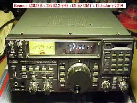 Es reception of IZ8DXB Beacon on 10 meters