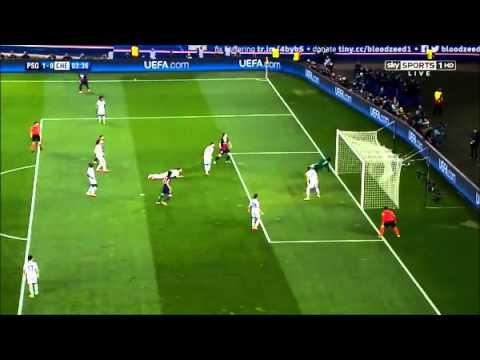 Lavezzi 1-0 [PSG vs. Chelsea / Champions League 02-04-14]