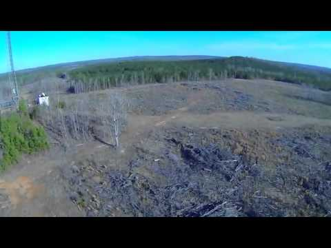 Захватывающий прыжок с парашютом с вышки