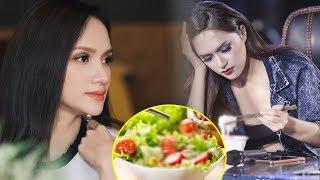 CHOÁNG VÁNG khi biết thực đơn hàng ngày của hoa hậu Hương Giang, không thể tin được!