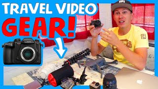 🎥 BEST CAMERA GEAR FOR TRAVEL VLOGS IN 2019 🎙 The Chick's Life Travel Camera Gear 📷
