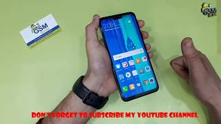 Huawei Y9 2019 Unlock Pattern Password | HARD RESET How To -- GSM GUIDE