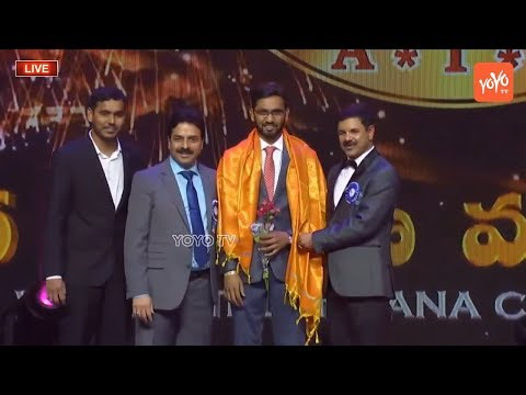 World Telangana Convention 2018 Event Donors Felicitation | American Telangana Association | YOYO TV