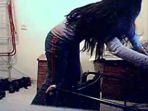 Crazy Pakistani girl falls from chair & breaks her back