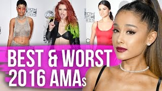 Best & Worst Dressed American Music Awards 2016 (Dirty Laundry)