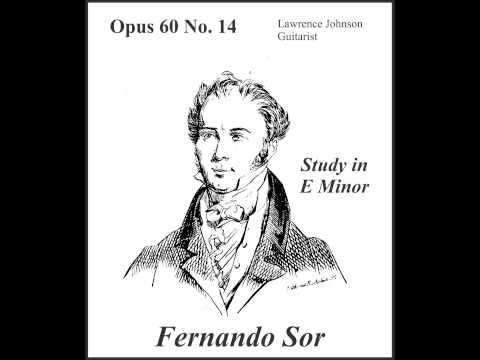 Fernando Sor - Opus 60 No 14 In E Minor