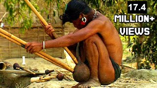 HOW TO MAKE MRO TRIBAL FLUTE 'PLUNG' IN BANGLADESH | মুরং বাঁশি 'প্লুং'কিভাবে তৈরি হয় বান্দরবানে