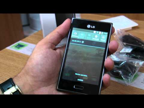 LG Optimus L5 E610 review HD ( in ROmana ) - www.TelefonulTau.eu -