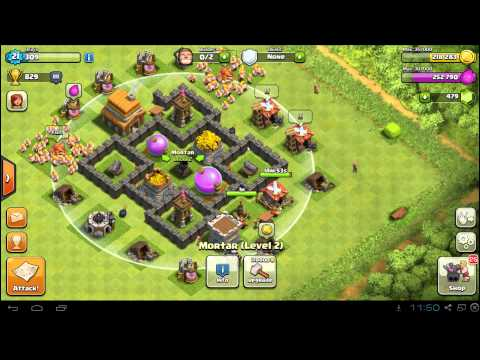 Best Clash of Clans Town Hall 4 Farming Base Layout & Defense Setup
