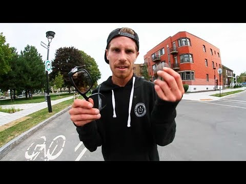 Ethernal Skate Films / Jeff Huard Skateboarding & Having Fun in Montreal