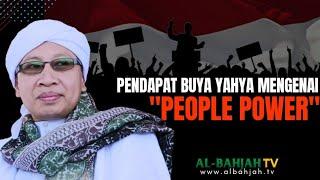 Pendapat Buya Yahya Mengenai People Power - Buya Yahya Menjawab