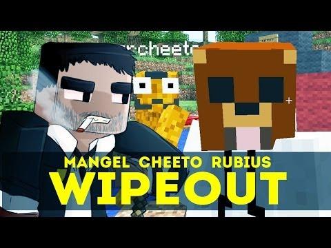 WIPEOUT!! - Pruebas y Trampas en Minecraft (Con Rubius y Cheeto)