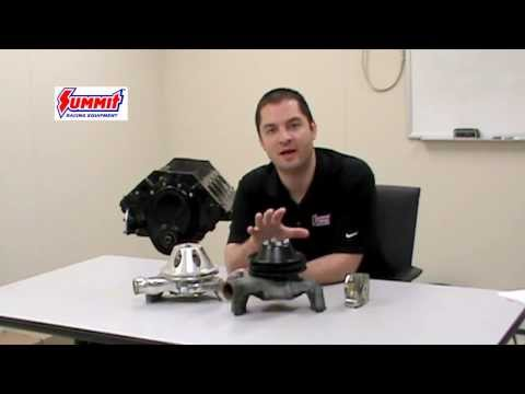 Chevy V8 Water Pump for Small. Big Block Engine   Summit Racing Quick Flicks