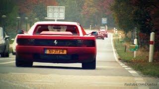 LOUD Ferrari Testarossa w/ Fuchs Exhaust!! - 1080p HD