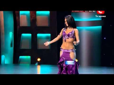 Екатерина Чернышова - Танец живота (СТБ).avi