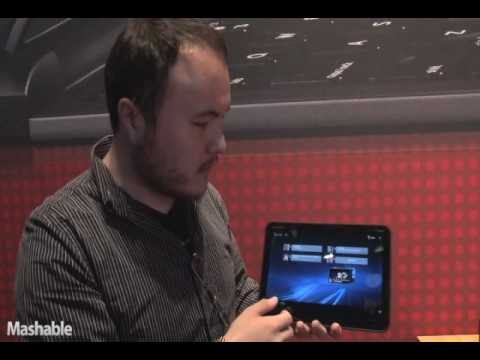 Motorola Xoom and Android Honeycomb Demo