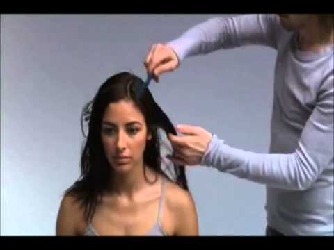 Hairdressing Tutorial Video - Hair Cutting
