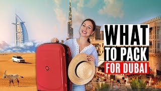 What to pack for Dubai. Dubai Life. Weekly Vlog.