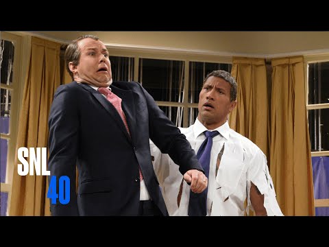 The Rock Obama Cold Open — SNL