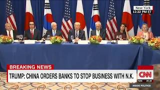 President Trump announces new North Korea sanctions (Full speech)