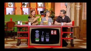 Le Menu Bleu de Burger Quiz - Marina Foïs et Benjamin Biolay piégés comme des Bleus !
