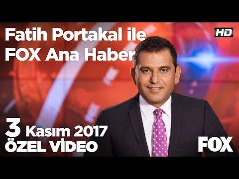 Ağlaya ağlaya İstanbul'dan göç ediyorlar! 3 Kasım 2017 Fatih Portakal ile FOX Ana Haber